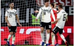 Goretzka cứu vãn một trận hòa cho nước Đức