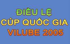 Điều lệ Cúp Quốc Gia Vilube 2005