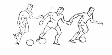 Cách dẫn bóng bằng lòng bàn chân