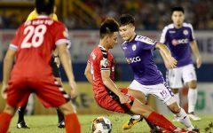 Hà Nội FC đã hòa 2-2 với Bình Dương