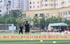 Lớp học bóng đá ở Linh Đàm