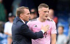 Rodgers vui mừng sau trận hòa của Leicester