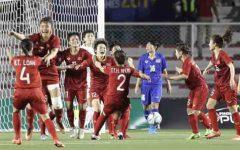Nữ Việt Nam thắng Nữ Thái Lan 1-0 để vô địch SEA Games